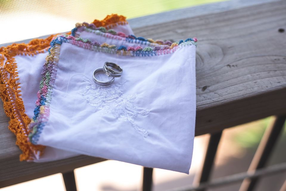 Wedding Rings and Handkerchiefs