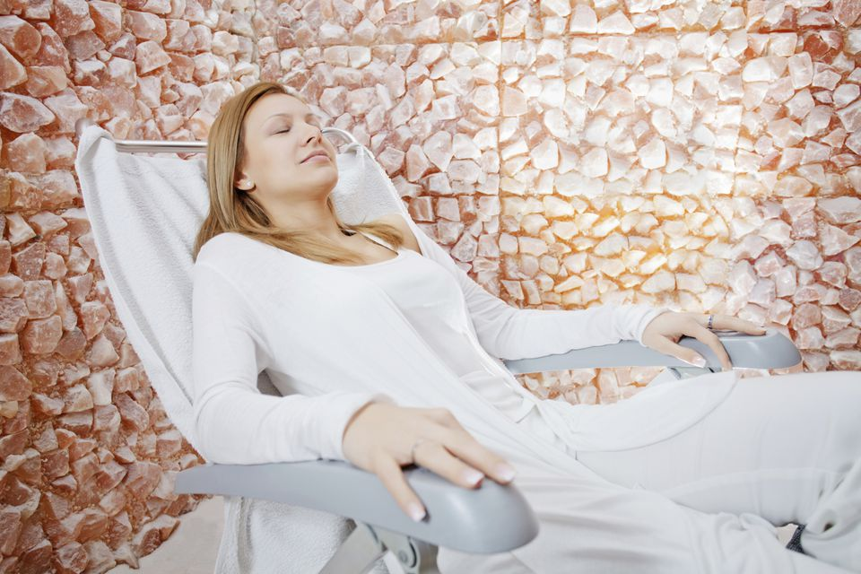 salt room and salt therapy
