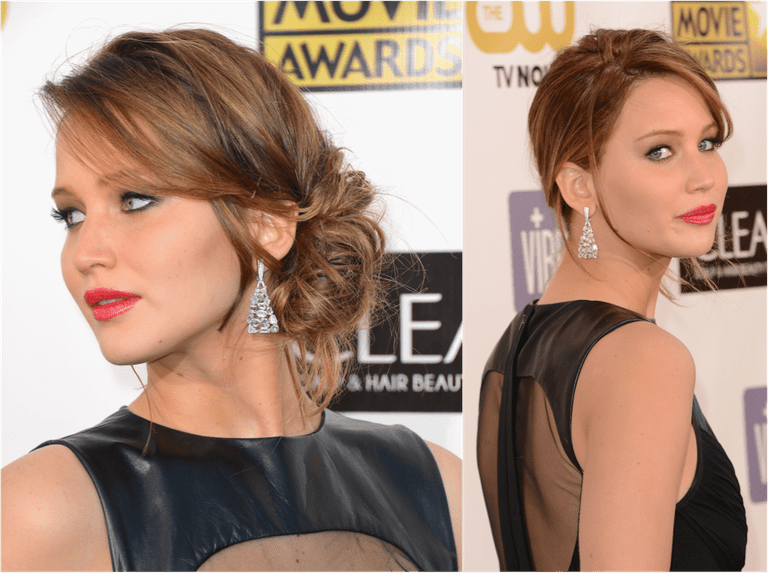 Side updos hot trends for formal occasions urmus Choice Image