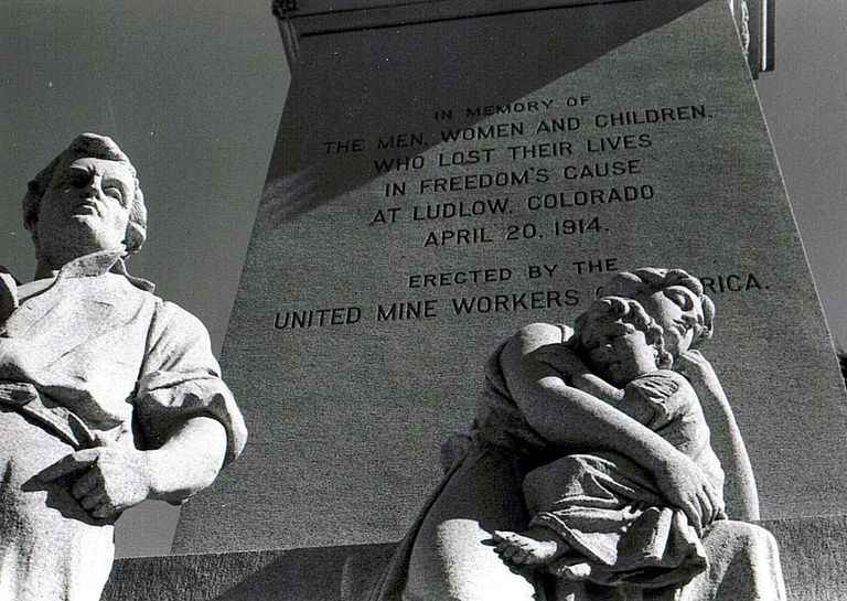 Monument to the Victims of the Ludlow Coal Massacre