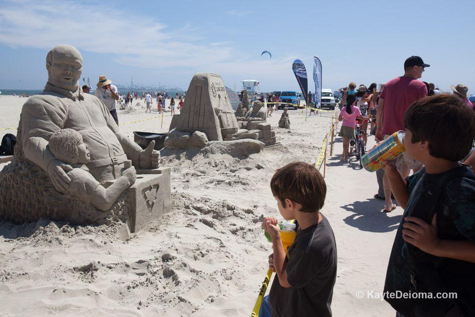 Long Beach Sand Sculpture Competition