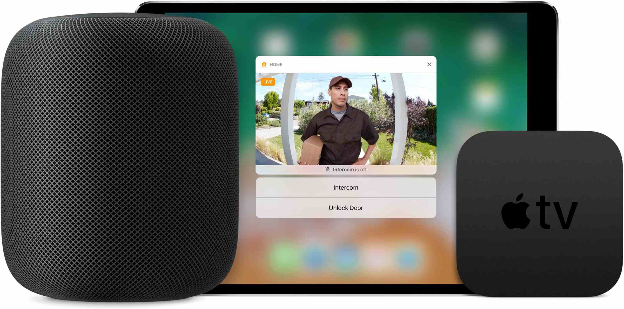 Apple HomeKit with Apple TV and HomePod Hub