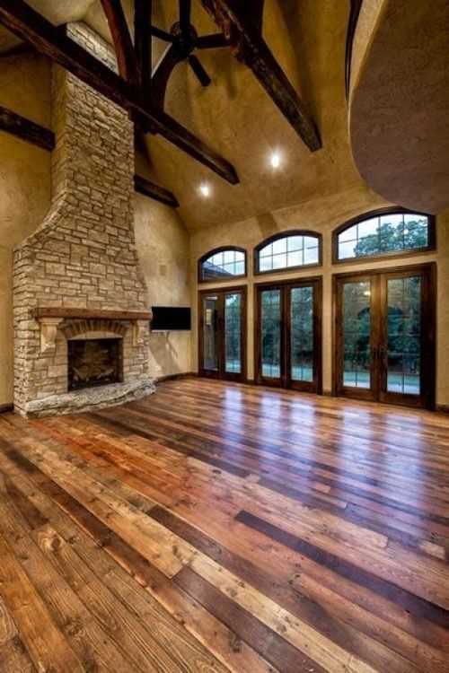 Beautiful open space with hardwood floors