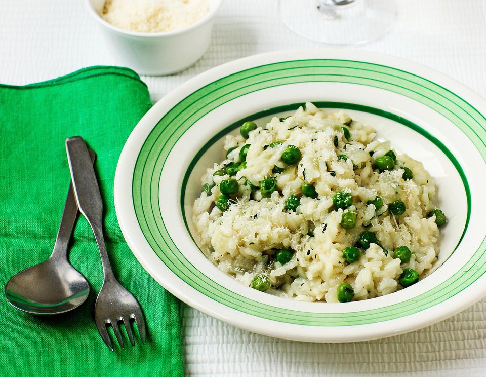 Creamy Rice Pilaf with Peas