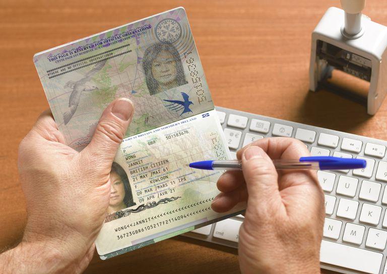 Verificación de datos en una visa americana