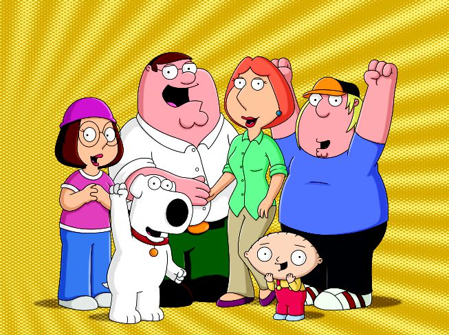 Family Guy Gold Background