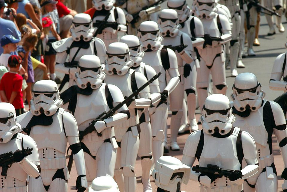 Strormtroopers Invade Disney-MGM Studios