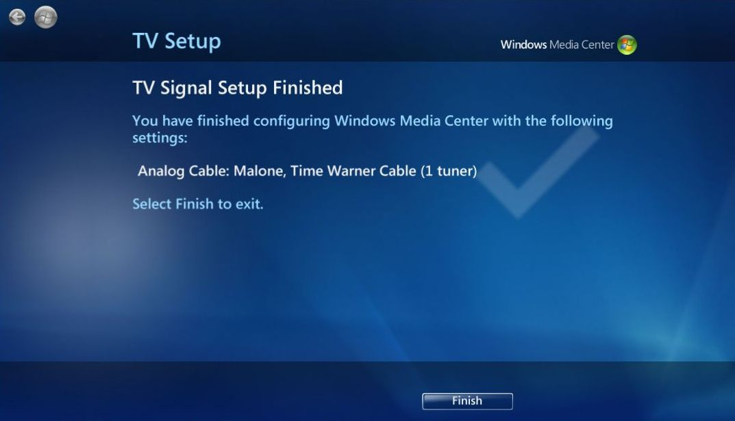Set Up a TV Tuner for your Media Center PC