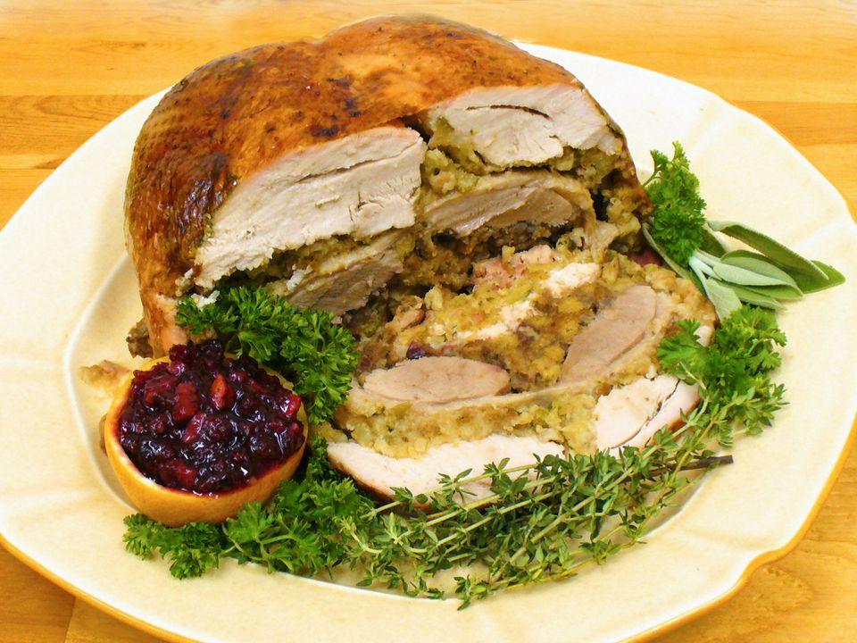 turducken recipe, how to make, turkey, duck, chicken, poultry, receipts