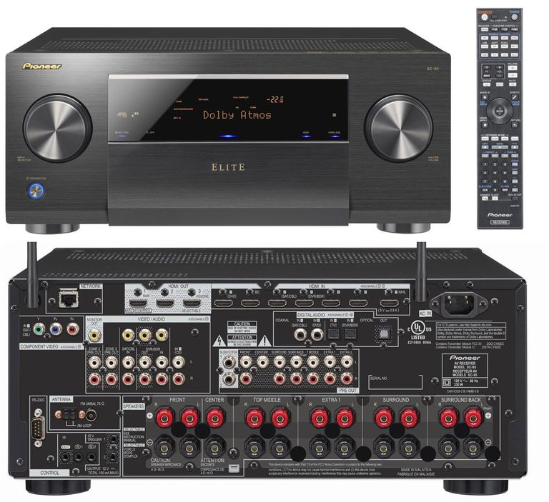 Pioneer Elite SC-95 Home Theater Receiver