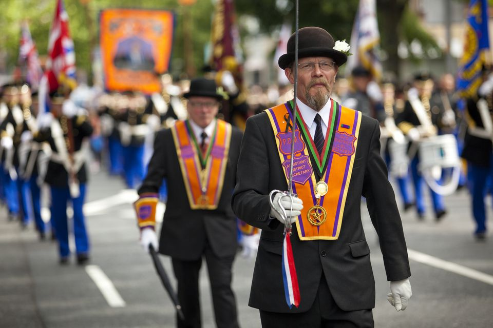 The Twelfth Parade also called Orangemen's Day or Orangefest, annual Protestant celebration on 12 July.