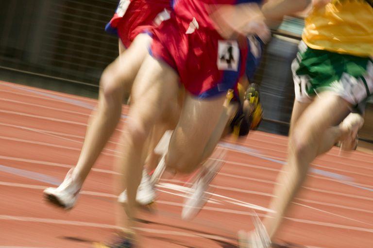 Running at fast speeds