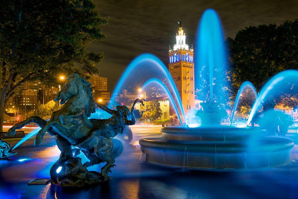 Jc Nichols Fountain - Royal Blue