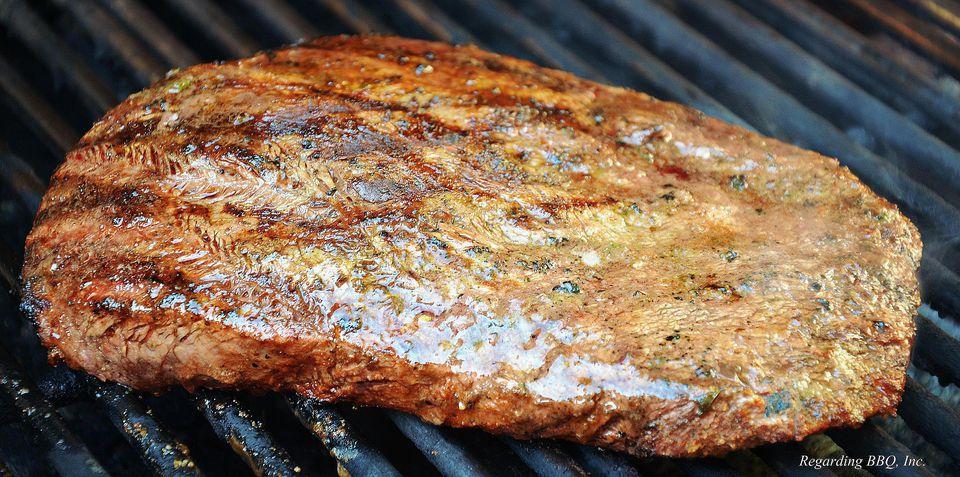 Flat Iron Steaks with Chili Rub