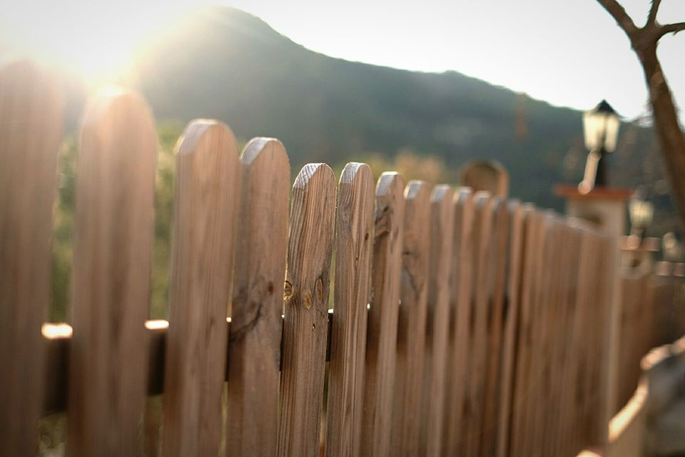 Setting a Fence Post
