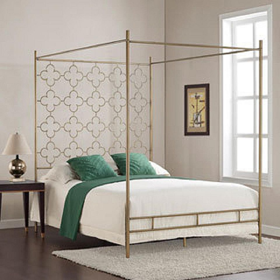 Bed Canopy No Nails : Canopy beds for every decorating style