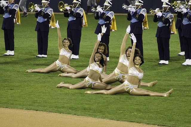 Southern University Dancing Dolls and Human Jukebox Marching Band