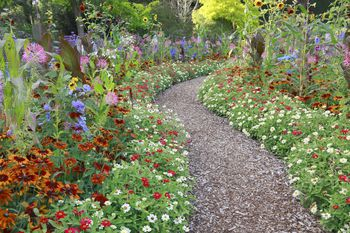 a gallery of beautiful and functional flower garden paths