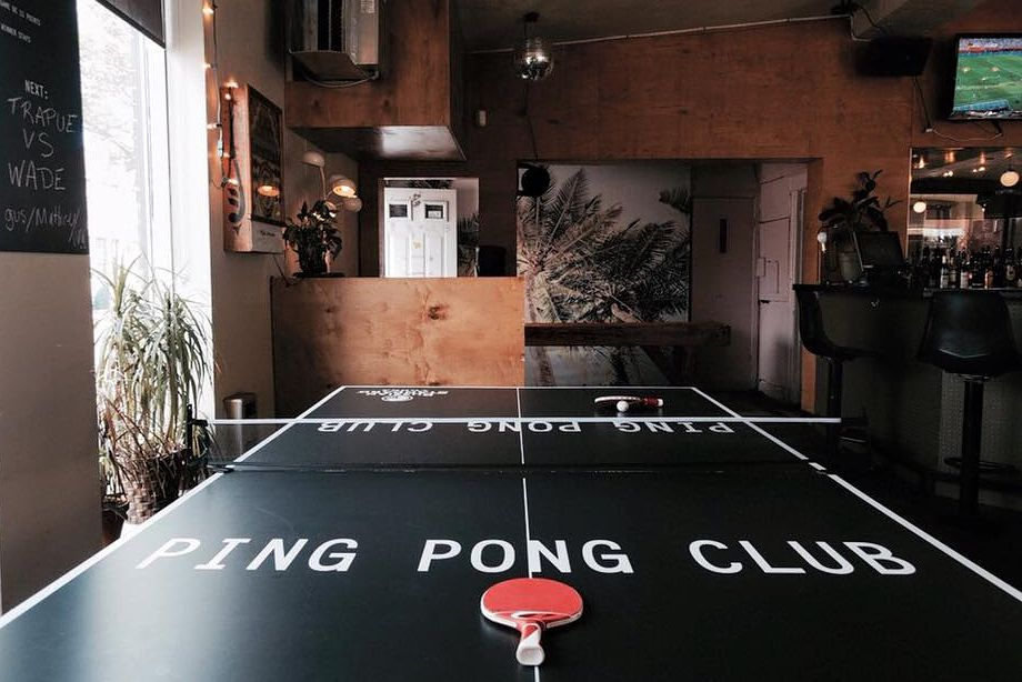 Ping Pong Club is a Montreal sports bar, pub and hipster haven.