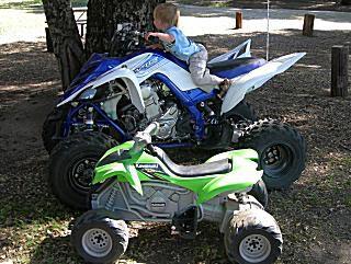 Sizes of an ATV