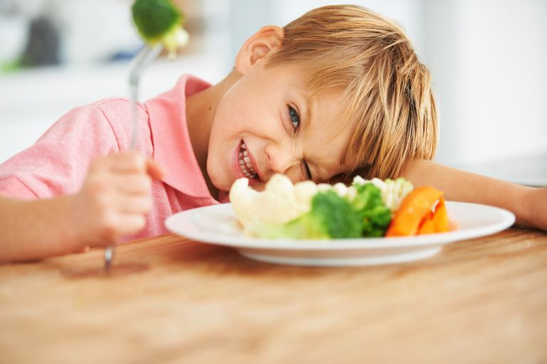 Don't try to force a fussy eater to eat.