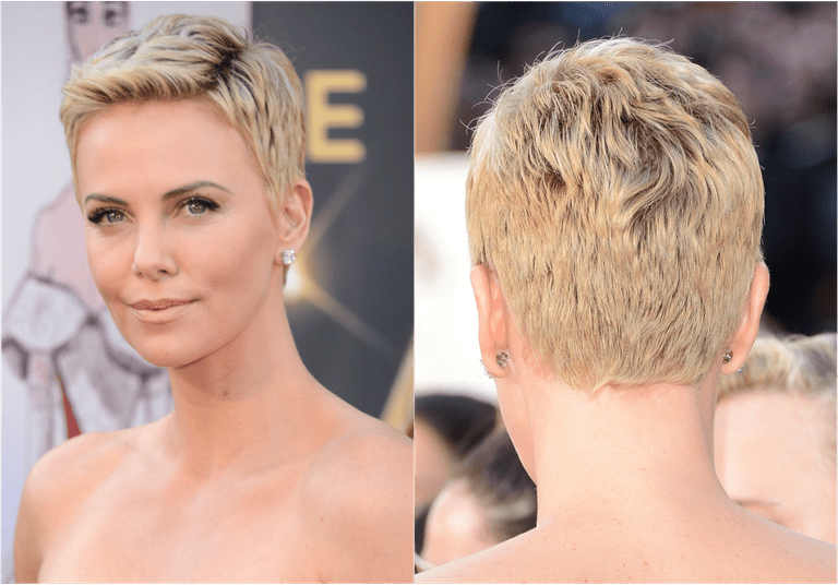 How to tell if youd look good in short hair charlize theron pixie hairg urmus Image collections