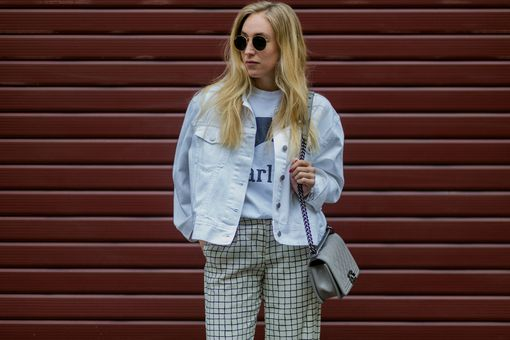 Street style jean jacket for spring style