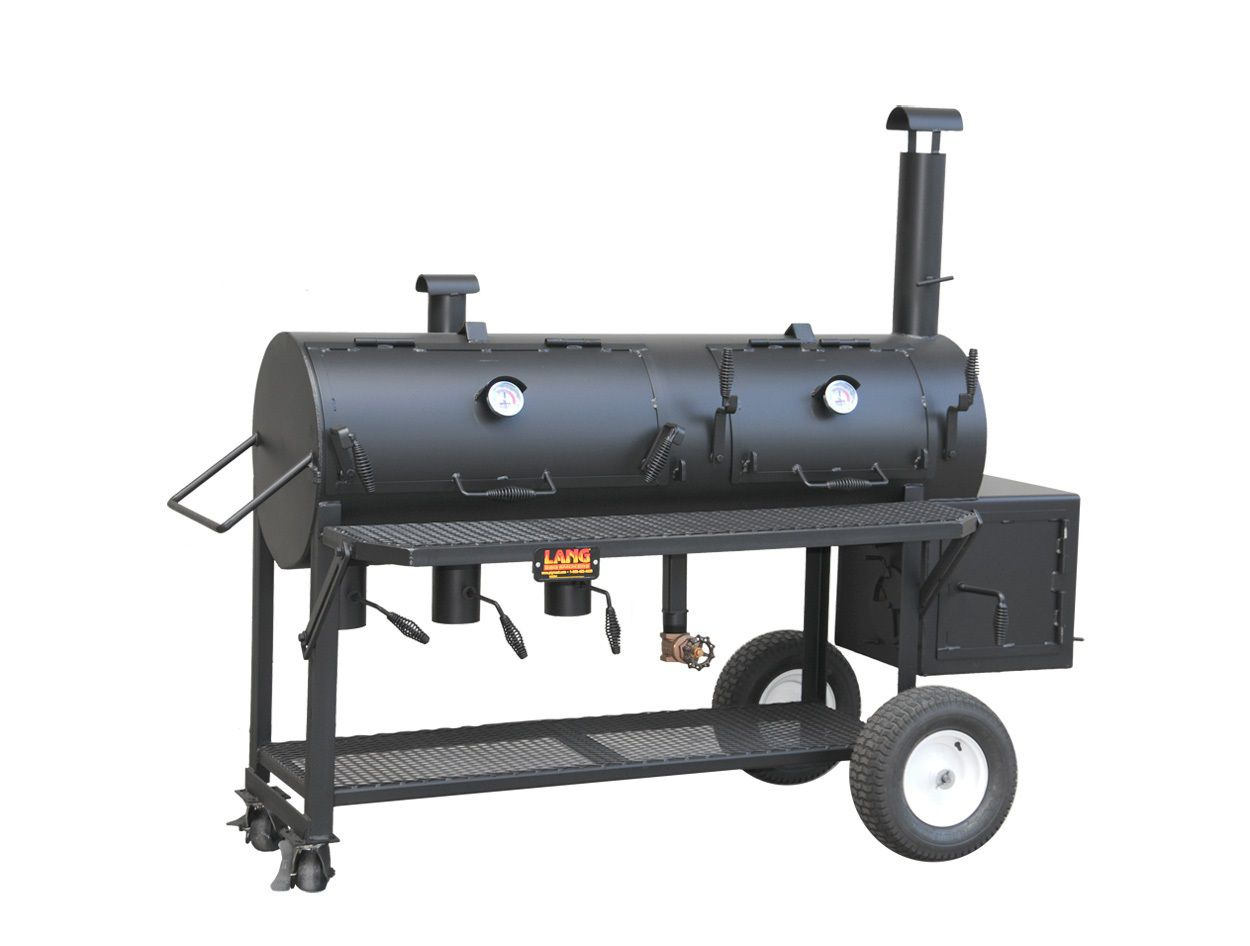 lang bbq smokers 36 inch hybrid patio smoker grill review