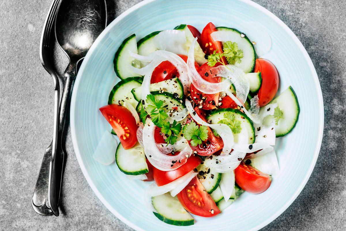 Recipe For Spanish Cucumber Salad Ensalada De Pepino