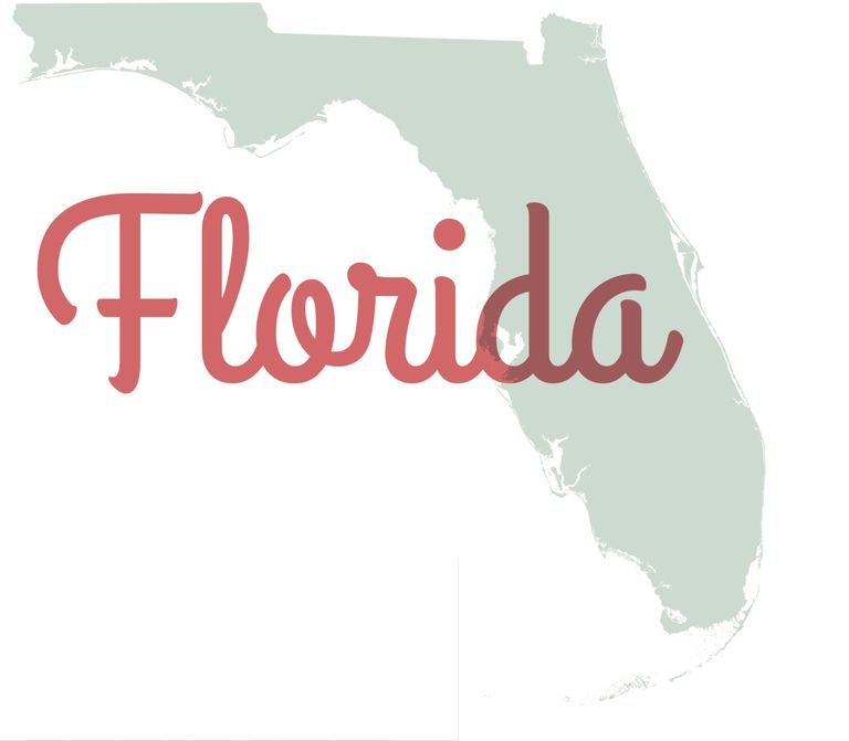 Florida State Outline