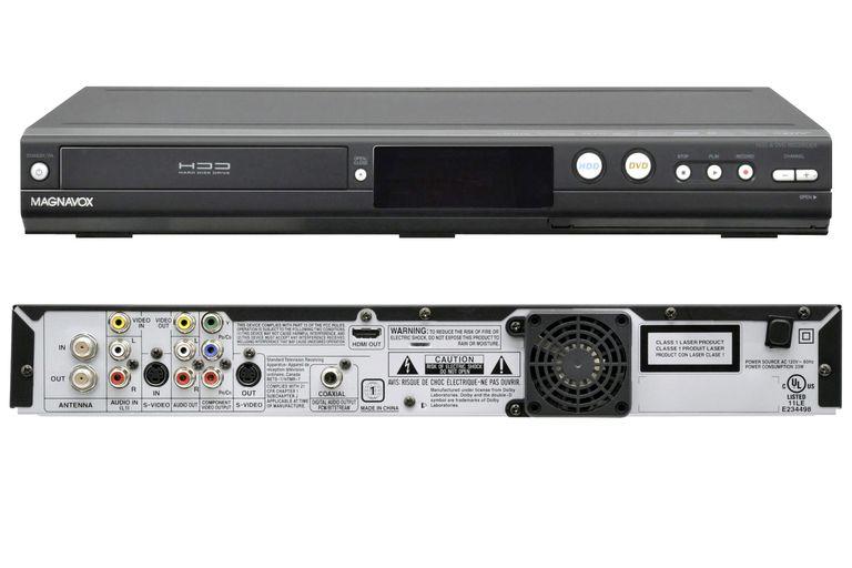 Magnavox MDR557H DVD/Hard Drive Recorder