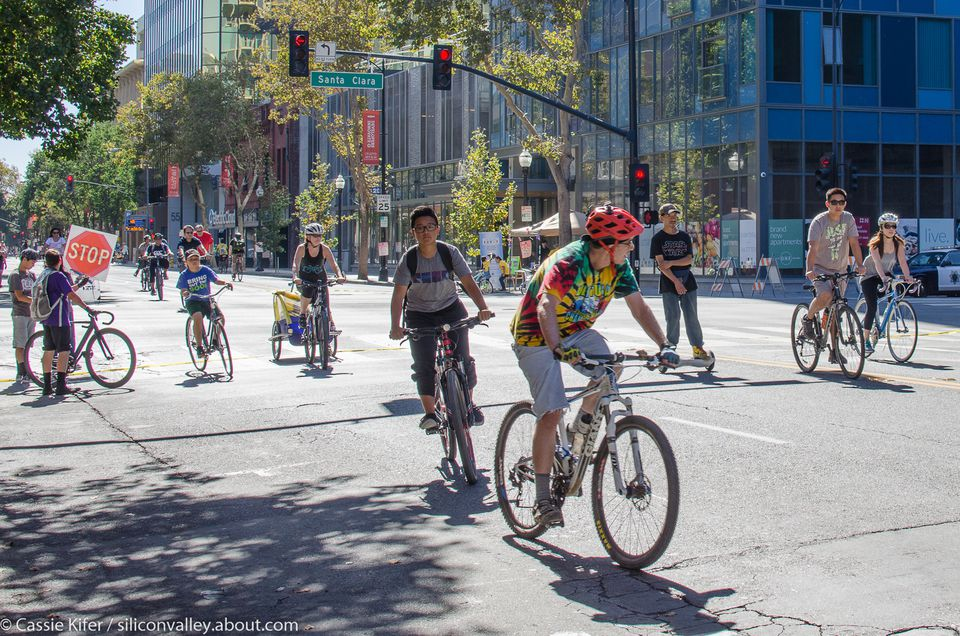 Photos from VivaCalle SJ, an open streets event in San Jose