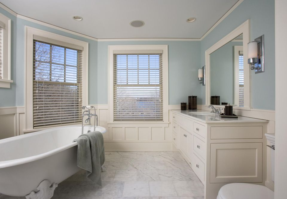 Fancy master bathroom
