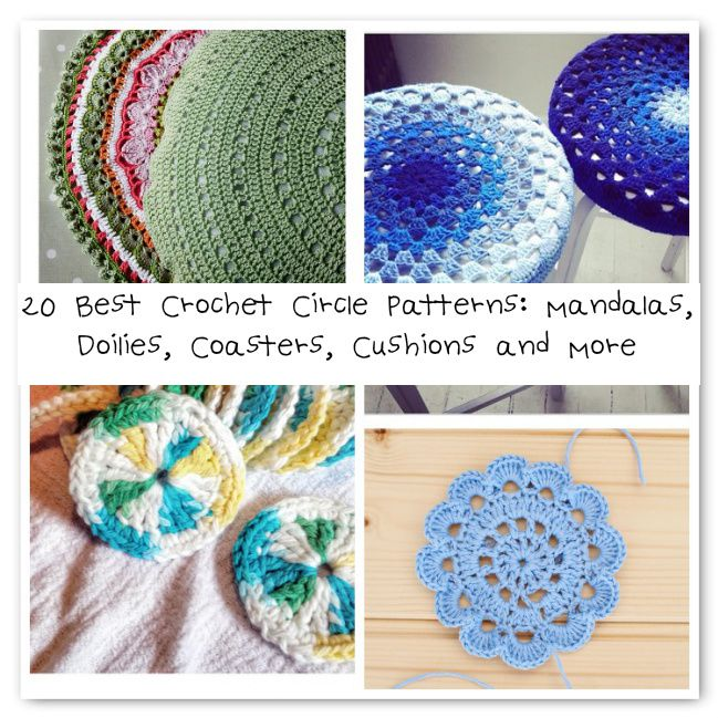 20 Circle Crochet Patterns