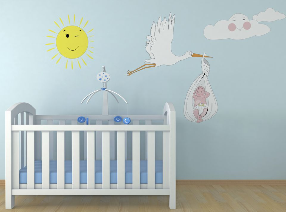 baby room feng shui colors