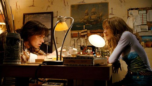 Mark Wahlberg and Saoirse Ronan in 'The Lovely Bones'