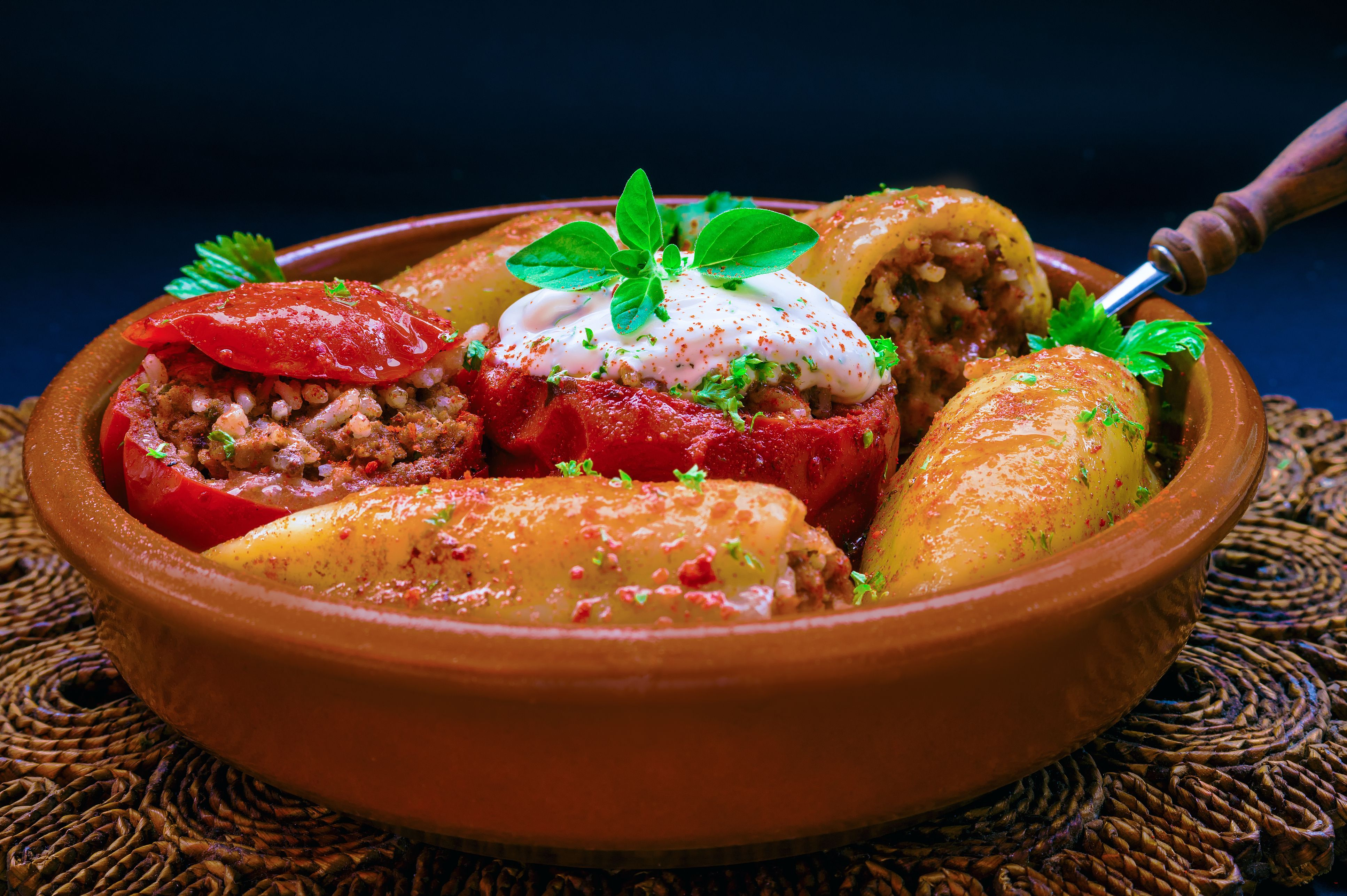 Spanish Stuffed Peppers Recipe