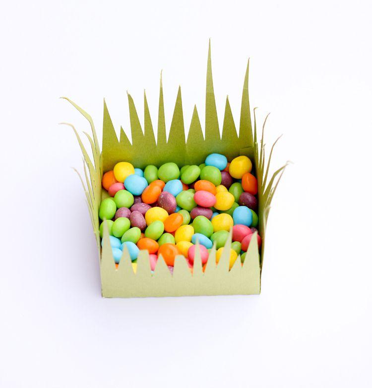 Paper Grass Box