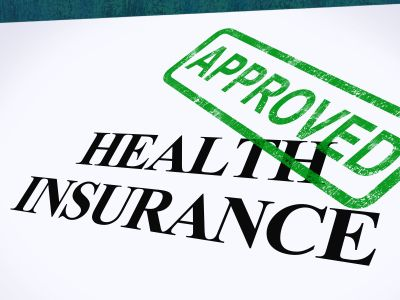 Health Insurance Approved Stamp