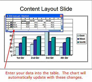 slide layouts in microsoft powerpoint opening screen. Black Bedroom Furniture Sets. Home Design Ideas