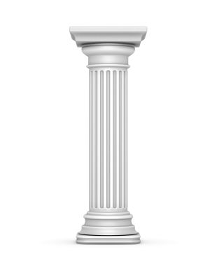 Also The Shaft Of A Tuscan Column Is Usually Smooth While Doric Has Flutes Grooves