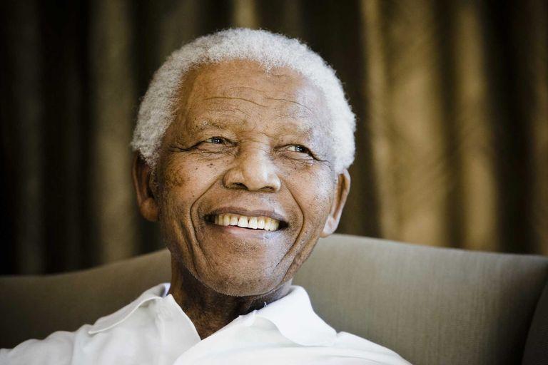 Nelson Mandela in 2009.