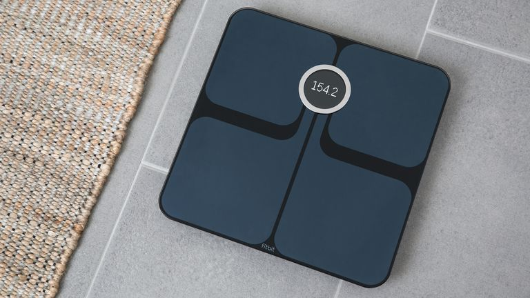Black Fitbit Aria 2 Smart Scale