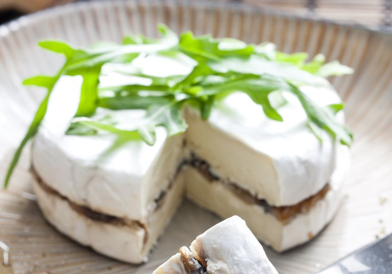 filled brie cheese