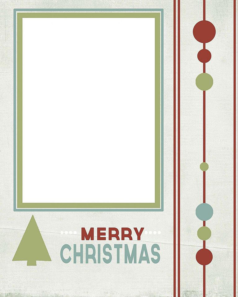 41 free christmas card templates for photo cards for Christmas card template for photographers