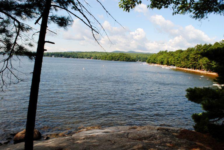 Sebago Lake in Maine