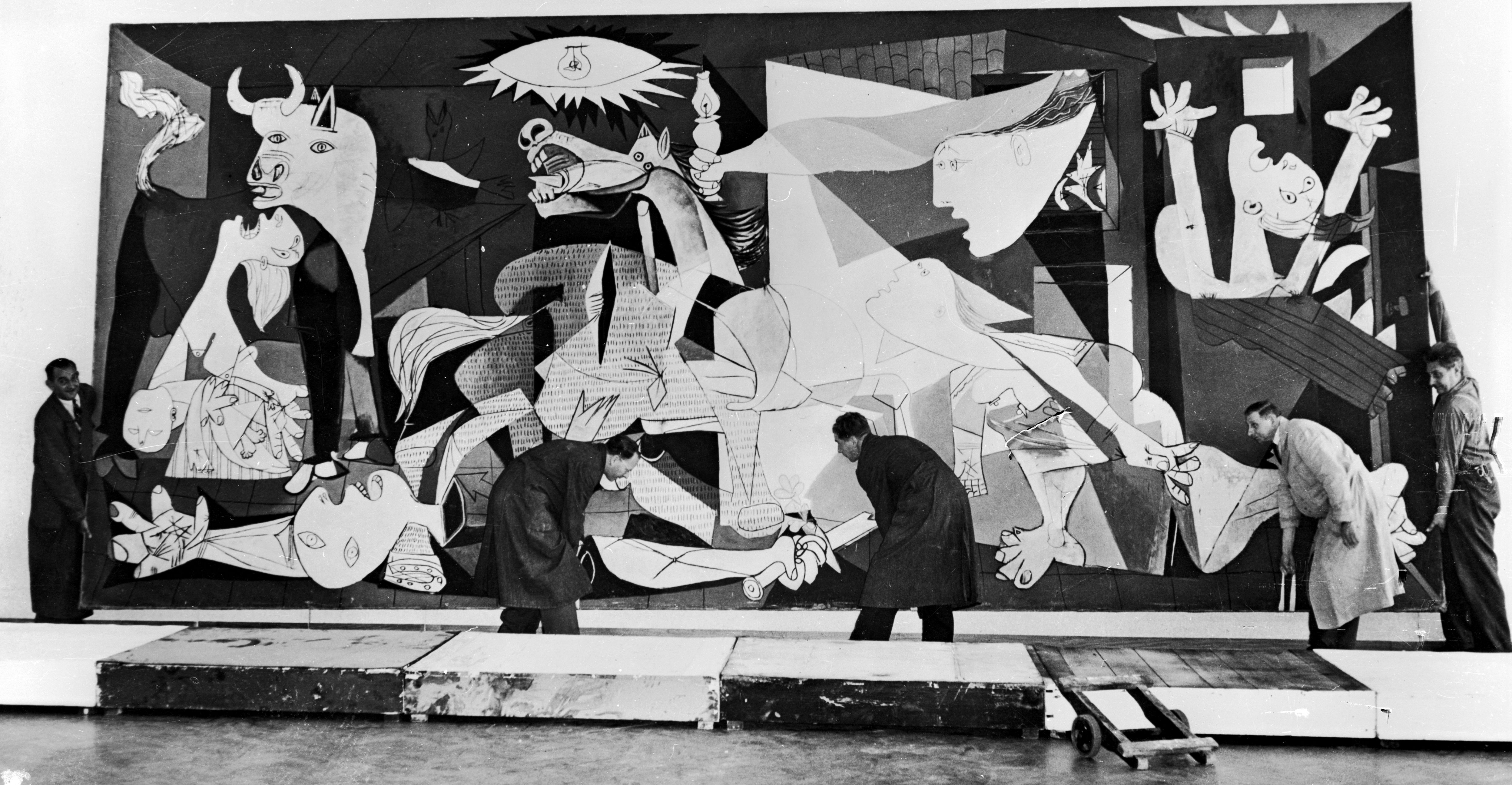 picasso 39 s guernica painting. Black Bedroom Furniture Sets. Home Design Ideas