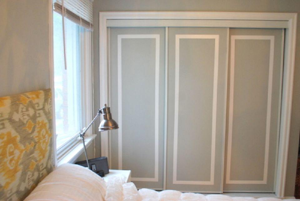 Sliding Mirror Closet Doors Makeover Diy