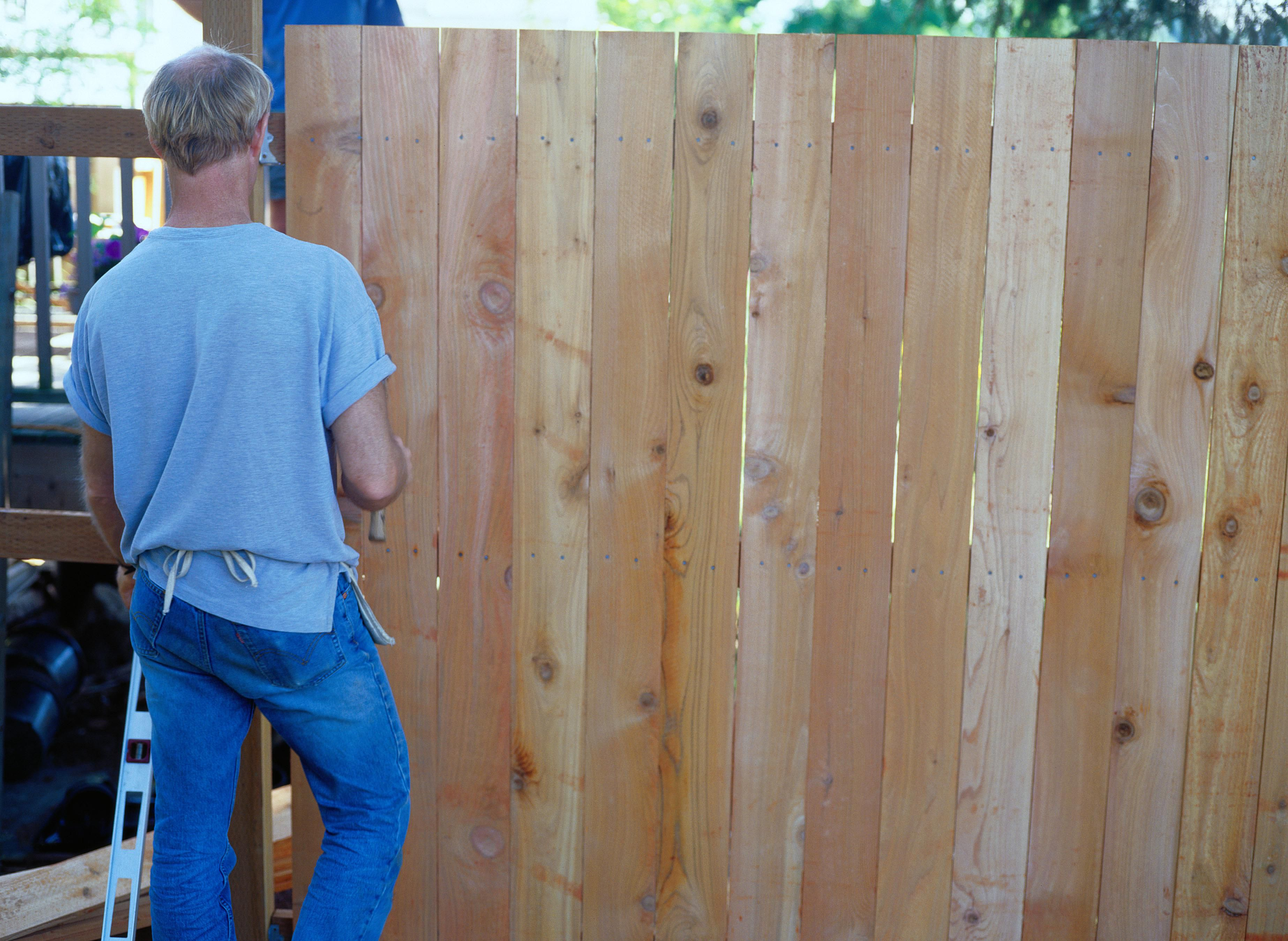 can you build on a property easement