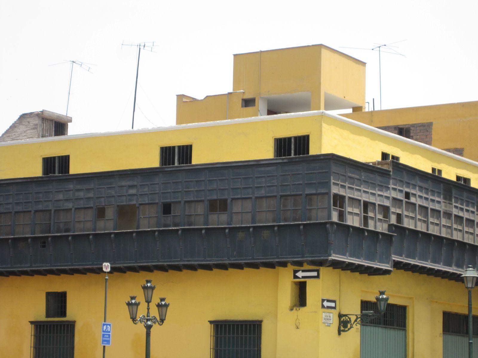 Las casonas m s destacadas del centro de lima for Centro de salud ciudad jardin badajoz